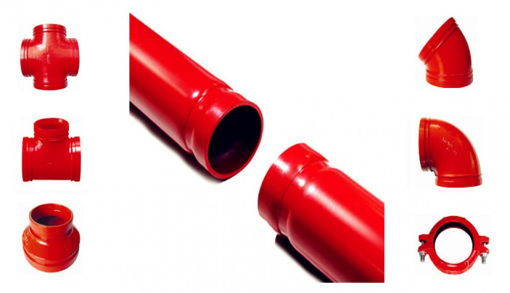 Fire Sprinkler Pipe and Fittings